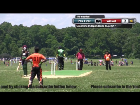 Green line Independence Cup 2017: Long Island United vs Pak First Cricket Club