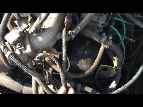 Газель заводится  с толкача со стартера нет// Газ 3302 двигатель 4216