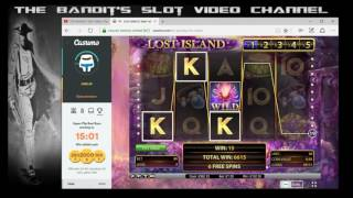 Super Mega Big Win Wildline on Lost Island Online Slot from The Bandit(Join me at Casumo....... claim your no deposit free spins :-) Click Below.... http://ads.casumoaffiliates.com/redirect.aspx?pid=547114&bid=1546 An epic win on ..., 2016-09-22T14:39:35.000Z)