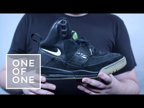 cd27124e50e87 Rare Nike Air Yeezy 1 Sample I One of One - YouTube