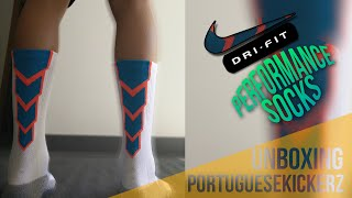 UNBOXING + On Feet | Nike Dri-FIT Performance Crew Football Socks/Nike MatchFit Crew