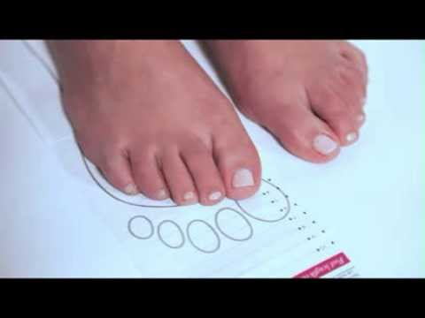 Foot Measuring Guide Shoe Size Guide Simply Be - YouTube