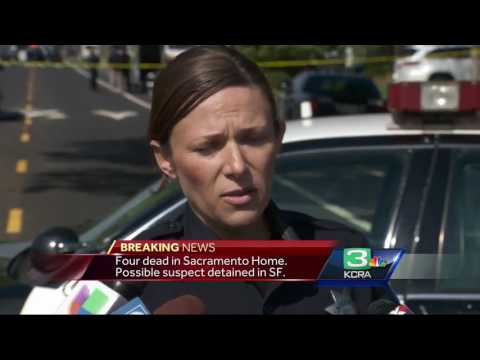 4 people found dead in south Sacramento home