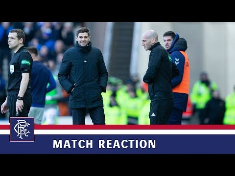 REACTION | Steven Gerrard | Rangers 1-0 Celtic