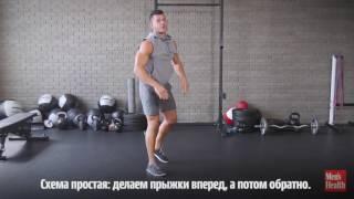 Отличная плиометрическая тренировка мышц кора и плеч