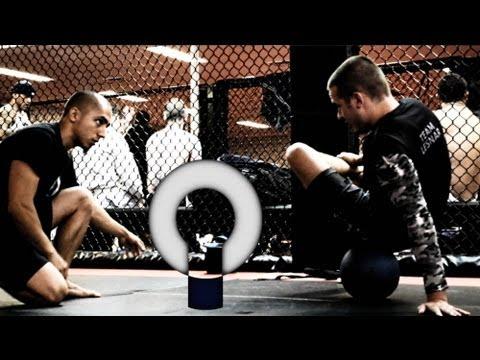 """MMA workout- Basic Knee Rehab with MMA fighter Myles """"The Fury"""" Jury"""