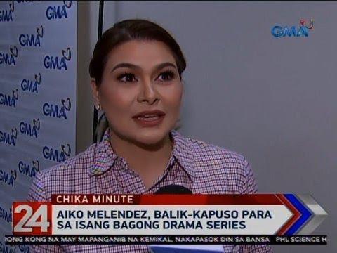 24 Oras: Aiko Melendez, balik-kapuso para sa isang bagong drama series