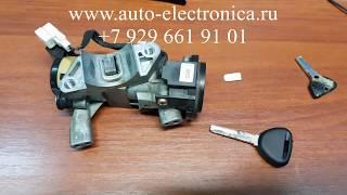 Ремонт ключа Mitsubishi Carisma 2001 г.в., изготовление ключа по личинке, полная потеря ключей