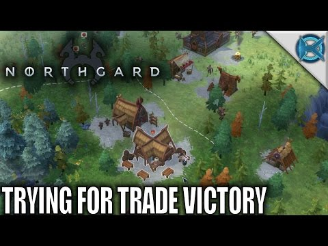 Northgard | Trying For Trade Victory | Let's Play Northgard Gameplay | S02E01