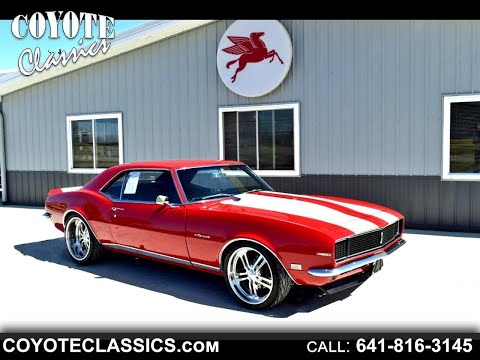 Mind Blowing 1968 Camaro RS/SS Restomod For Sale At Coyote Classics