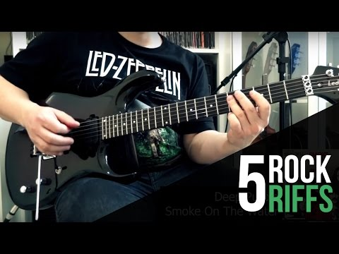 5 Riffs fáceis de clássicos do rock - Vilmar Gusberti