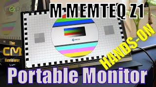 M MEMTEQ Test: Portable 15,6 inch IPS monitor - Hands-on (Deutsch, e...
