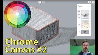 Chrome Canvas #2 - Tasot
