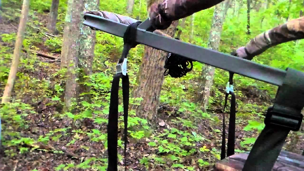 Stabilizer Straps For My Summit Viper Sd Tree Stand Youtube