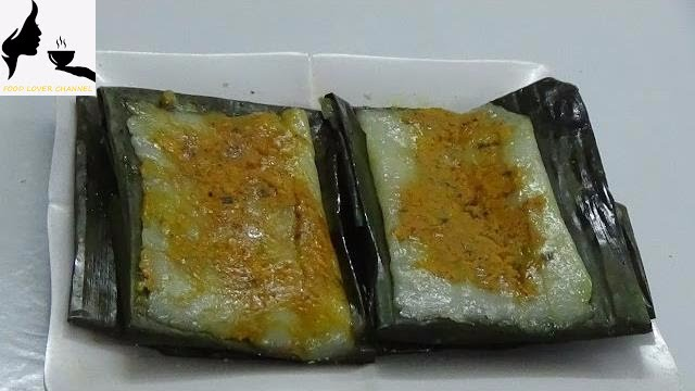 Vietnamese Rectangular Steamed Rice Dumpling Pork And Shrimp With Banana Leaves Youtube