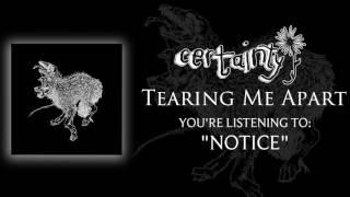 Certainty - Notice