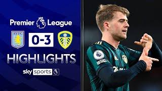 Bamford scores hat trick as Leeds hammer Villa | Aston Villa 0-3 Leeds Utd | EPL Highlights