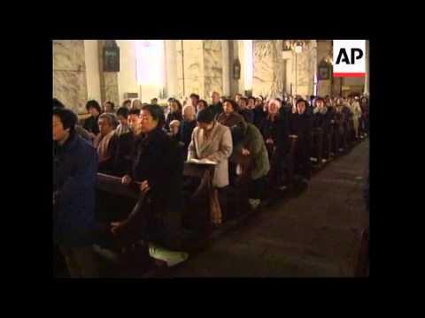 CHINA: BEIJING: CATHOLIC'S EASTER CELEBRATIONS