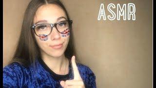 ASMR Teaching you English   АСМР урок английского языка