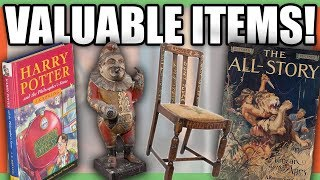 10 EXTREMELY RARE AND VALUABLE ITEMS - RARE HISTORIC THINGS!!