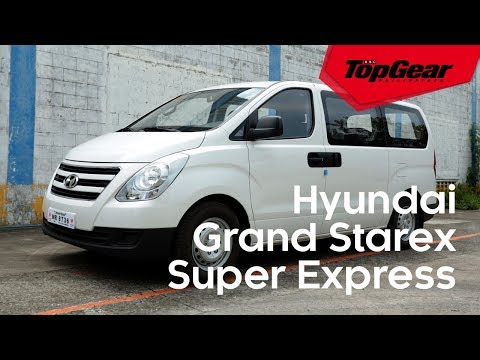 The Hyundai Grand Starex Super Express is an easy to drive commuter van