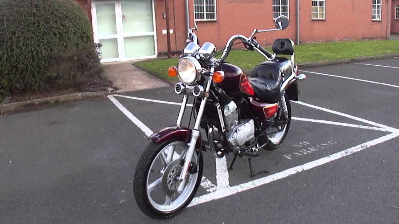 2001 Hyosung Cruise Ii 125 Vgc Learner Legal Motorbike Oil