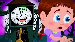 The Clock Has Struck Thirteen | Schoolies Cartoons For Toddlers