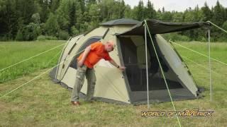 Обзор кемпинговой палатки Grand Family Maverick