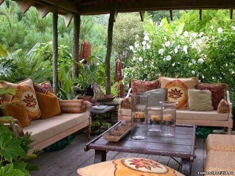 Отдых на даче в уютных местах, которые создали сами дачники