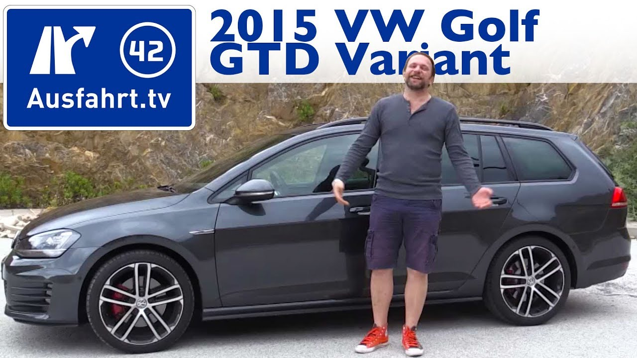 2015 volkswagen golf gtd variant kaufberatung test review youtube. Black Bedroom Furniture Sets. Home Design Ideas