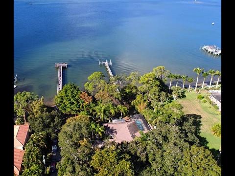 Pristine Waterfront Home in Osprey, Florida