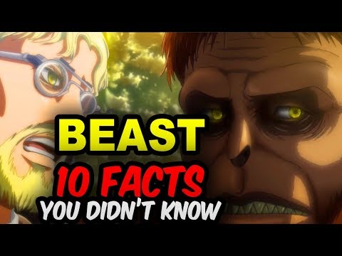 10 BEAST TITAN Facts You Didn't Know! Attack on Titan Zeke Facts