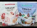 SmashMallow: Candy Cane & Hot Cocoa Snackable Marshmallows Review
