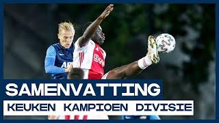 Veel goals, rood en schwalbe bij talenten Ajax en AZ  | Samenvatting Jong Ajax - Jong AZ | KKD