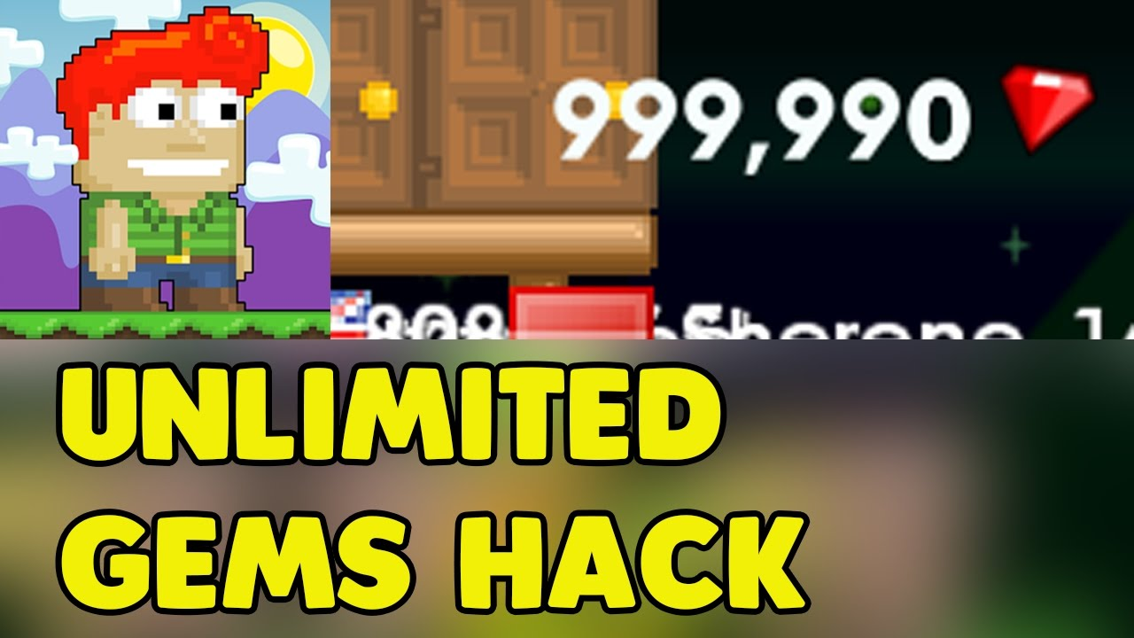 download growtopia hack unlimited gems