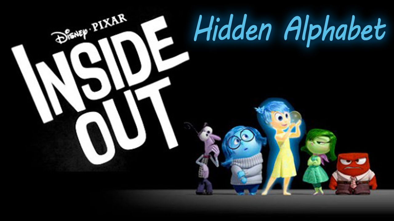 disney pixar inside out hidden alphabets new 2015 learning game for toddlers - Hidden Pictures For Toddlers