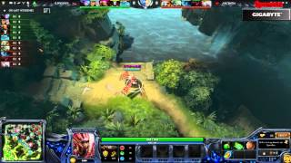 Elite Wolves vs Team Archon (Game 1) (The Summit 4) - Cast Mr.Choco