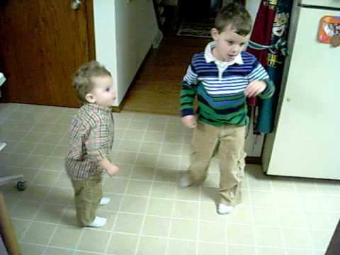 Dane and Cole dancing