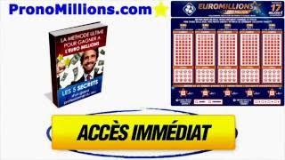 Pronostics Tirage Euro Millions Vendredi 13 Janvier 2017 Résultats le soir du tirage