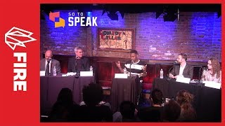 Debate: 'Is there a campus free speech crisis?' w/ Sullivan, Haidt, Nossel, Sachs, & Foster
