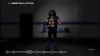 WWE 2K18 Wie man AJ Styles Survivor Series 2017 Kleidung
