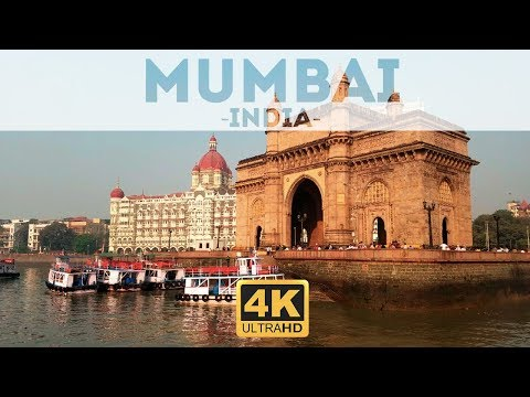 Mumbai City India Tour Travel Guide & Things To Do in 4k