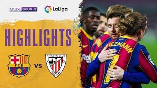 Barcelona 2-1 Athletic Club | LaLiga 20/21 Match Highlights