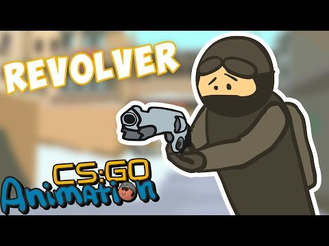 CS ANIMATION: REVOLVER R8 (COUNTER-STRIKE PARODY)