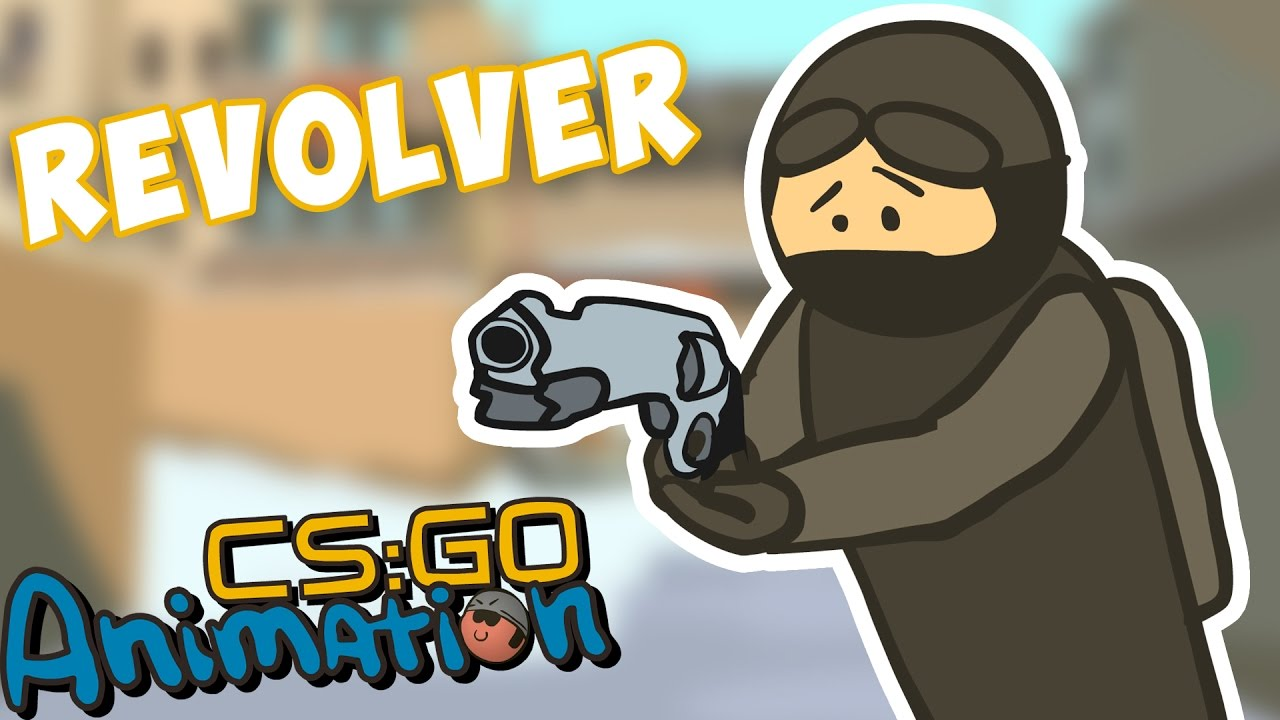 CS ANIMATION: REVOLVER R8 (COUNTER-STRIKE PARODY)