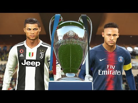 PES 2019 - Juventus vs PSG - Final UEFA Champions League [UCL] - Penalty Shootout - CR7 vs Neymar
