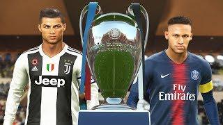 PES 2019 - Juventus vs PSG - Final UEFA Champions League [UCL] - Penalty Shootout - CR7 vs Neymar