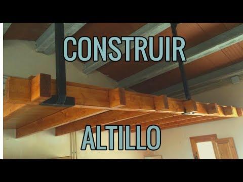 Como construir un altillo