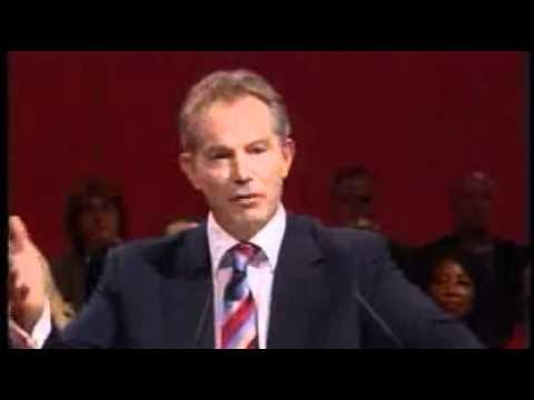 Tony Blair: His Greatest Speech (1 of 4)