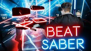 UMIEŚCIŁEM SIĘ W GRZE! (Beat Saber Expert)